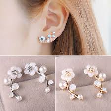 ear earrings ne women fashion jewelry rhinestone ear stud
