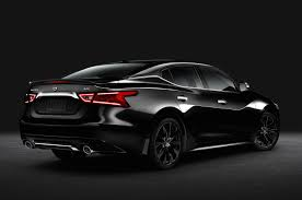 nissan sentra rims 2015 2016 nissan maxima sr gets blacked out with midnight package