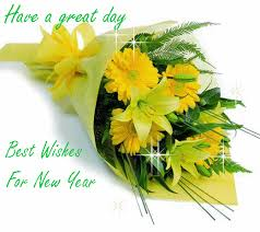 online new year cards free online greeting card wallpapers new year 2014 flower wishes