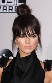 hairstyles with fringe bangs best celebrity bangs hairstyles 2017 hairdrome com