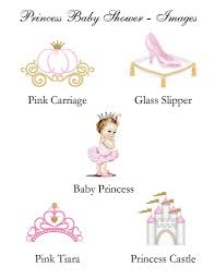 pink and gold baby shower princess pink gold baby shower place cards pavia party favors