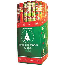 christmas gift wrap rolls ddi christmas gift wrap rolls 30 x 40 sq ft roll pack of 48