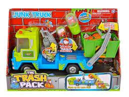 amazon trash pack trashy junk truck toys u0026 games