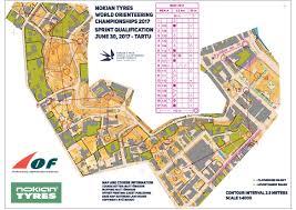 woc 2017 sprint qual a men june 30th 2017 orienteering map