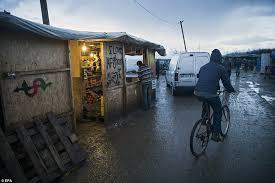 bureau de change a calais calais jungle shops in on arrivals in c daily mail