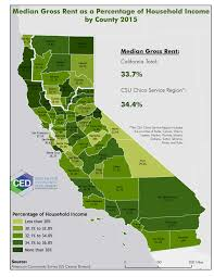 Ca County Map Map Of The Month Center For Economic Development