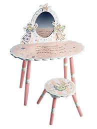 Levels Of Discovery Princess Vanity Table And Chair Set Fairies Wish
