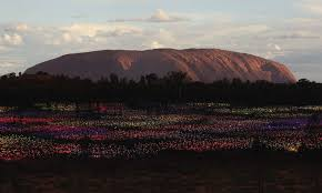 field of light uluru bruce munro field of light codylee co