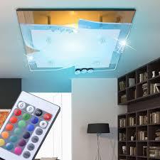 Wohnzimmer Lampe Dimmen 7 Watt Rgb Led Decken Spiegel Kristall Wohnzimmer Leuchte Dimmer