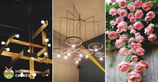 How To Make A Cardboard Chandelier 34 Beautiful Diy Chandelier Ideas That Will Light Up Your Home