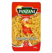 cuisiner les pates nouilles fines panzani pates longues