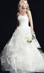 wedding dress vera wang vera wang wedding dresses for sale preowned wedding dresses