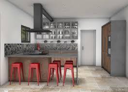 bistrot et cuisine cuisine style bistrot chic er collection avec étourdissant cuisine