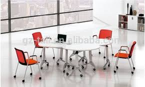Small Meeting Table Modular Office Furniture Combination Portable Small Folding