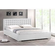 Overstock Platform Bed White Modern Size Platform Bed 14233946