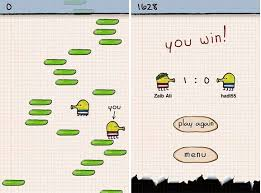 doodle jump ios doodle jump for ios updated with multiplayer feature the tech