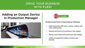 Print Production Manager Sai Flexi Add A Device To Production Manager Youtube