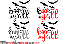 halloween silhouette png boo y u0027all halloween silhouette svg cutting files digital clip art