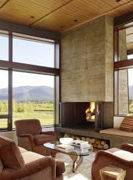 burke home decor peaks view residence by carney logan burke architects logan