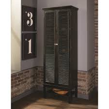 Shutter Door Cabinet Tall Wine Cabinet With Shutter Doors By Scott Living Wolf And