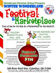 wynnbrook winter marketplace festival muscogee