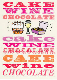birthday wine cake wine chocolate funny birthday card cards love kates