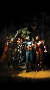 wallpaper galaxy marvel avengers android wallpapers group 53