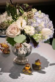 Mercury Glass Urn Vase Ashley Rosenbaum U0027s Baby Shower Baby Shower Flowers