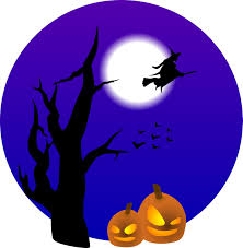 top 10 flying witch and pumpkins free halloween vector clipart