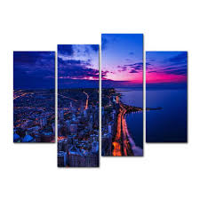chicago home decor amazon com canvas print wall art painting for home decor chicago