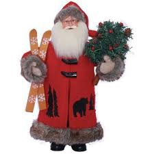 black santa figurines you ll wayfair