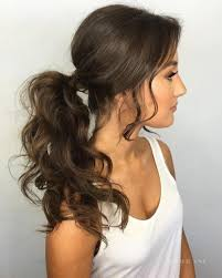 ponytail hair best 25 formal ponytail ideas on wedding ponytail