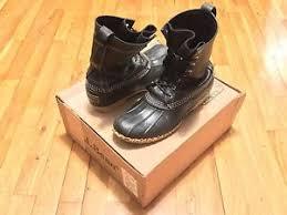 s bean boots size 9 ll bean 10 inch black bean boots size 9 ebay