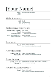 free basic resume template free resume templates for openoffice template open office