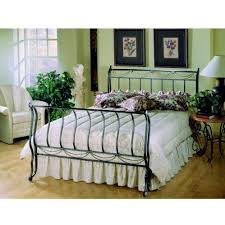 Metal Sleigh Bed Sleigh Bed Frames Hillsdale Camelot Metal Sleigh Bed In