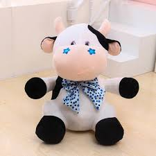 valentines day stuffed animals customized different sizes colorful cow stuffed animals for