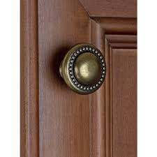 where to buy antique cabinet pulls shop for gliderite 1 25 inch antique brass beaded
