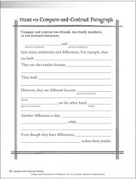 first grade compare and contrast writing template google search