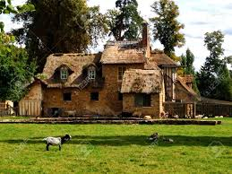 old french country house with animals stock photo picture and