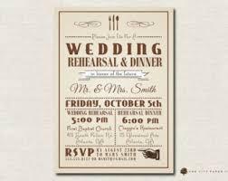 bridal dinner invitations vintage rehearsal dinner invitations kawaiitheo