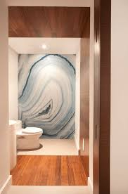 stone feature wall this bathroom wall makes a statement using