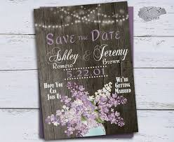 Rustic Save The Date Cards Best 25 Purple Save The Dates Ideas On Pinterest Printable Save