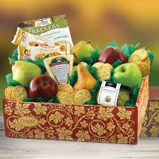 fruit gift boxes italian pride of the farm fruit gift box capalbos gift baskets