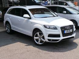 2011 audi q7 for sale 2011 pearl white audi q7 for sale absolutelylowmilage