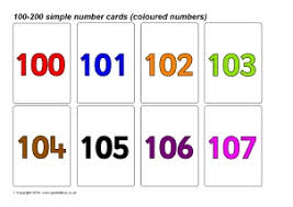 Flashcards Numbers 1 100 Number Cards To 100 Printable Printable Cards