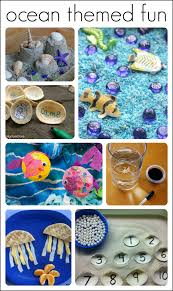 30 fantastic activities for a preschool ocean theme