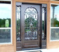 Arabic Door Design Google Search Doors Pinterest by Custom Texas Star Wrought Iron Door Sidelites Aaleadedglass Com