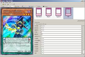photo card maker yu gi oh anime card maker projects ygopro forum