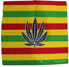 Weed Flag Foxmother Hip Hop Punk 100 Cotton Reggae Jamaica Green Weed Leaf