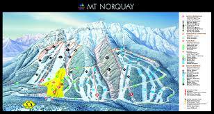 Mt Hood Trail Map Banff Piste Maps And Ski Resort Map Powderbeds